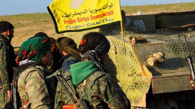Những chiến binh người Kurd trên chiến trường Deir Ezzor. Ảnh minh họa South Front