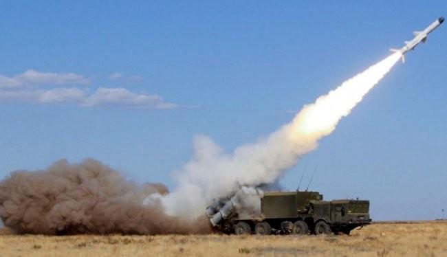 Tổ hợp tên lửa phòng thủ bờ biển Bal của Nga.