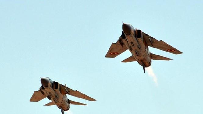 Không quân Syria không kích chiến tuyến của lực lượng Hồi giáo cực đoan ở Idlib, Hama, Aleppo. Ảnh minh họa South Front