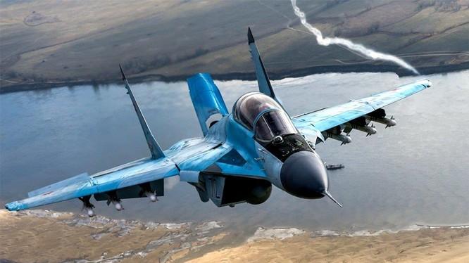 Máy bay tiêm kích hạng nhẹ đa nhiệm MiG-35, tham gia đấu thầu tại Ấn Độ. Ảnh minh họa: Rusian Gazeta.