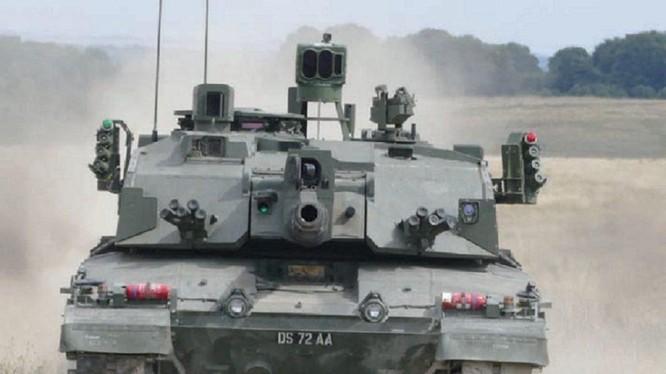 Xe tăng chiến đấu chủ lực Challenger 2 quân đội Anh.