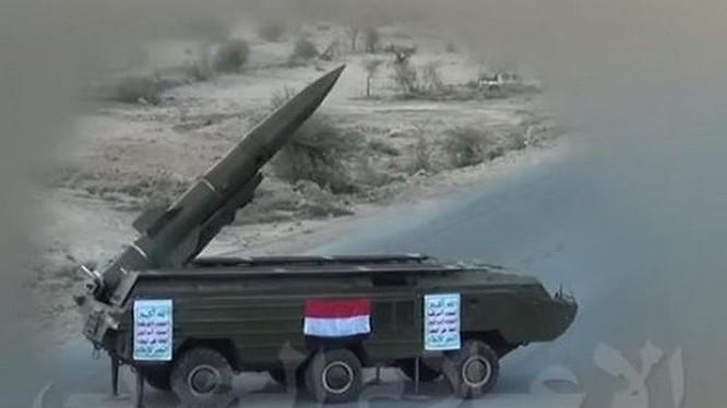 Tên lửa đạn đạo chiến thuật Tochka của quân đội Syria. Ảnh minh họa: Masdar News.
