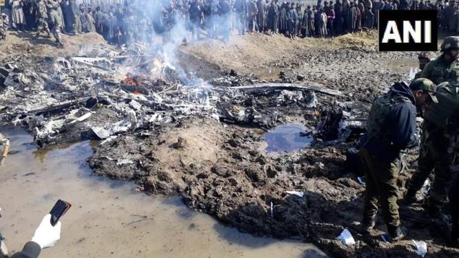 Trực thăng Mi-17 V5 của không quân Ấn Độ bị rơi ở Kashmir. Ảnh minh họa: Defense-Blog.