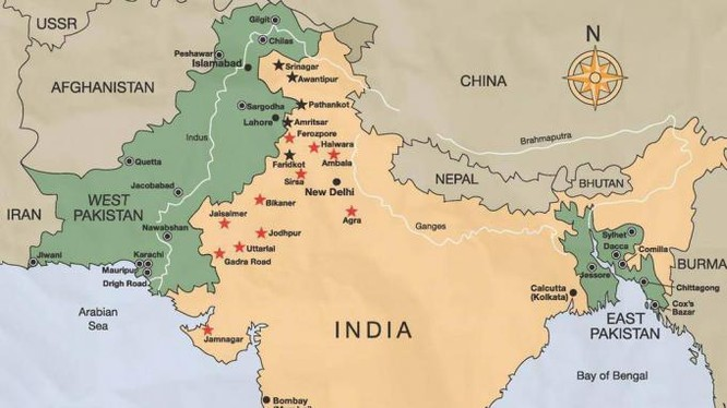 Bản đồ xung đột khu vực Ấn Độ, Pakistan theo CNN.