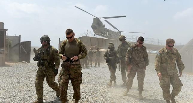 Binh sĩ Mỹ trong căn cứ quân sự trên vùng sa mạc thuộc tỉnh miền nam Hasakah, Syria. Ảnh minh họa South Front