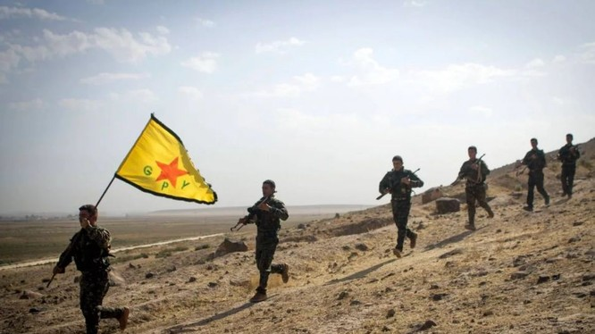 Lực lượng dân quân người Kurd trên chiến trường Afrin. Ảnh minh họa: South Front.