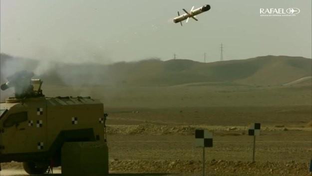 Hệ thống tên lửa chống tăng đa nhiệm mới thế hệ 5 Spike ER2.