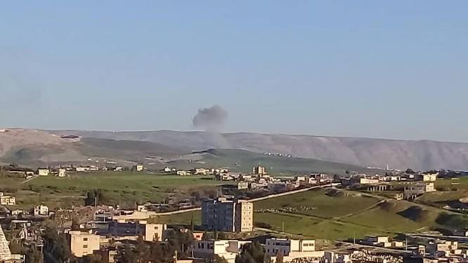 Không quân Nga không kích trên chiến trường Idlib.