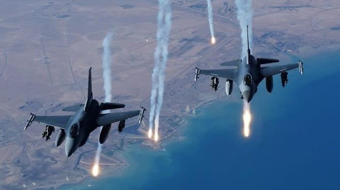 Không quân Mỹ hoạt động trên chiến trường Deir Ezzor