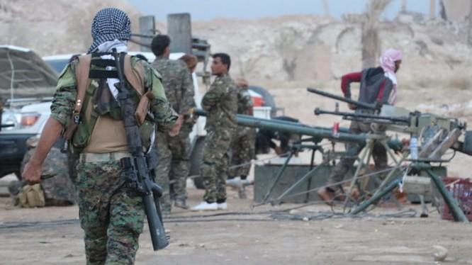 Các chiến binh người Kurd sẵn sàng cho cuộc tấn công cuối cùng. Ảnh minh họa: South Front.