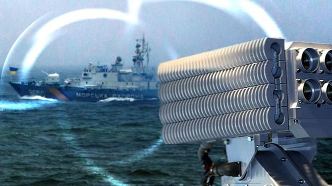 Thiết bị gây nhiễu quang - thị giác Filin cho các hạm tàu. Ảnh minh họa: TVZvezda.
