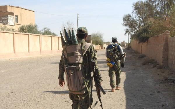 Các chiến binh người Kurd YPG trên chiến trường Afrin. Ảnh minh họa: Masdar News.