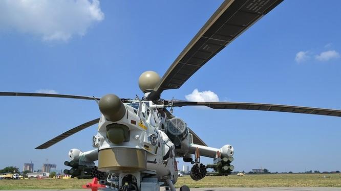 Trực thăng tấn công Mi-28N. Ảnh minh họa: Russian Gazeta.
