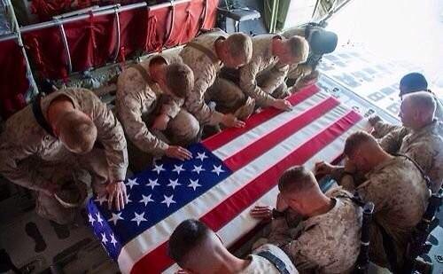 Lính Mỹ thiệt mạng trên chiến trường Afghanistan.
