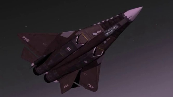 """Tiêm kích đánh chặn tầm xa mang tên lửa hạng nặng mới nhất của Nga ATN-51 """"Thảm họa đen """"."""