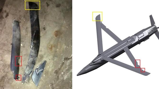 Mảnh bom trượt loại nhỏ GBU-39 của Israel ở Syria. Ảnh minh họa South Front