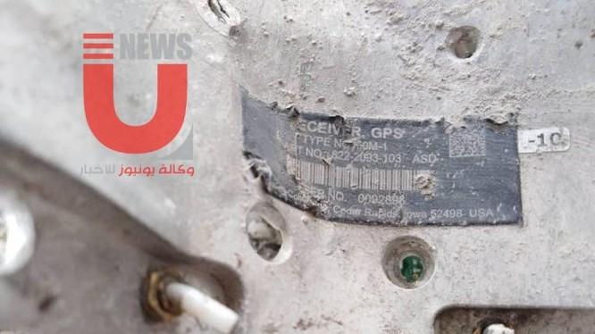 Mày bom bay GBU-39/B Mỹ trên chiến trường Aleppo. Ảnh minh họa: Masdar News.