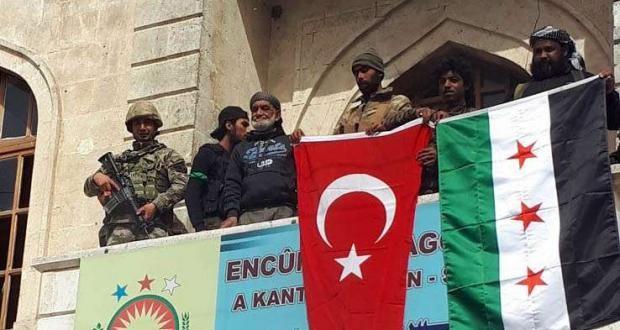 Lực lượng liên minh quân sự Thổ Nhĩ Kỳ, Quân đội Syria tự do (FSA) ở Afrin.