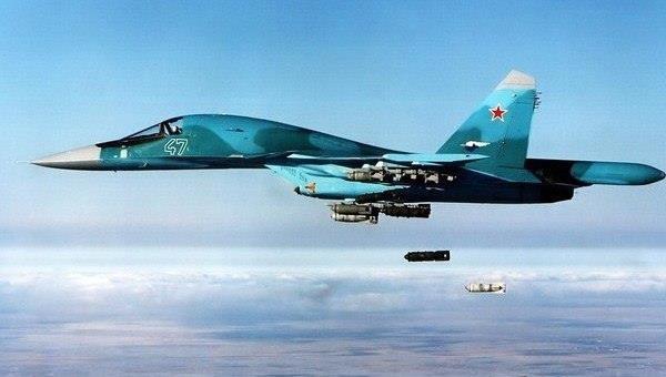 Không quân Nga không kích dữ dội Al-Qaeda Syria ở Idlib. Ảnh minh họa Masdar News