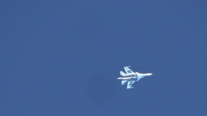Máy bay chiến đấu Nga trên chiến trường Hama, Idlib. Ảnh minh họa: Muraselon.
