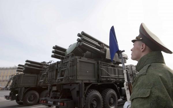 Tổ hợp pháo - tên lửa phòng không nâng cấp Pantsir-SM. Ảnh minh họa: Russian Gazeta.