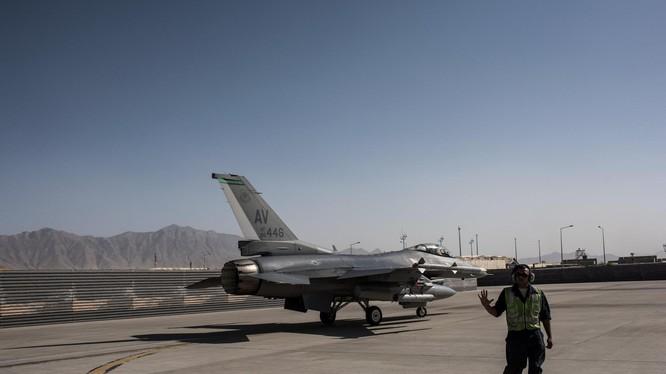 Căn cứ không quân Mỹ Bagram ở Afghanistan. Ảnh minh họa: New York Times.