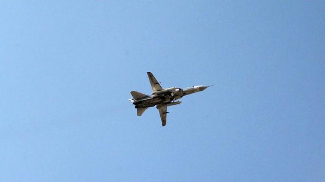 Không quân Nga bất ngờ không kích IS trên chiến trường sa mạc tỉnh Deir Ezzor. Ảnh minh họa South Front