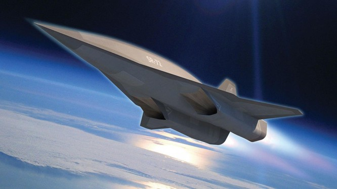 Mô hình đồ họa máy bay siêu âm SR-72 của tập đoàn Lockheed. Ảnh The National Interest