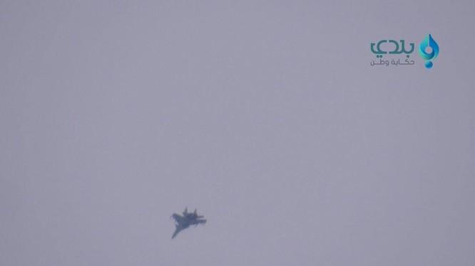 Không quân Nga tiến hành cuộc không kích ở Idlib.