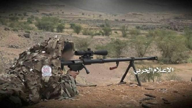 Một xạ thủ bắn tỉa của lực lượng kháng chiến Houthi. Ảnh minh họa South Front
