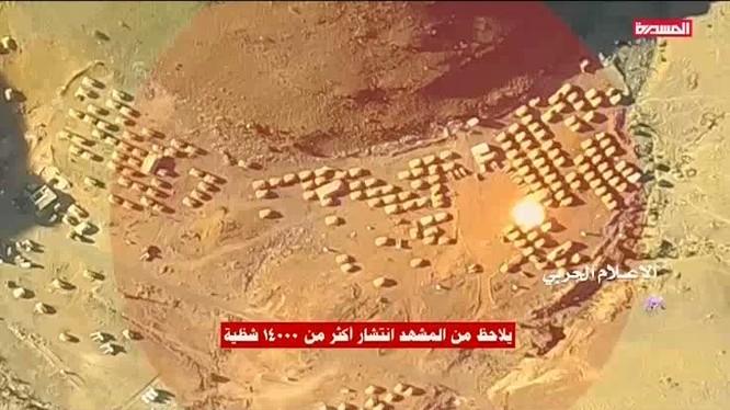 Lực lượng tên lửa đạn đạo Houthi tấn công doanh trại Liên minh quân sự vùng Vịnh do Ả rập Xê-út dẫn đầu.