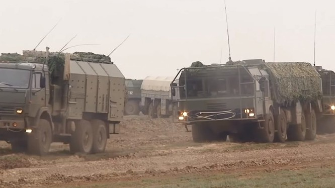 Hệ thống Iskander được triển khai ở Syria. Ảnh minh họa Masdar News