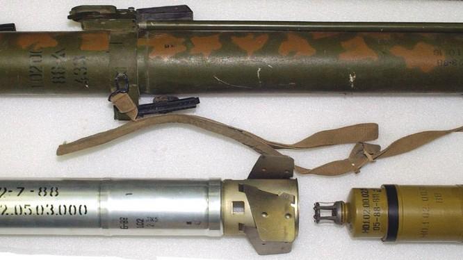 Súng phóng lựu nhiệt áp RShG-1 của Liên Xô cũ. Ảnh Russian Gazeta