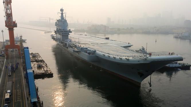 Tàu sân bay Trung Quốc Type 001A đã hoàn thành.