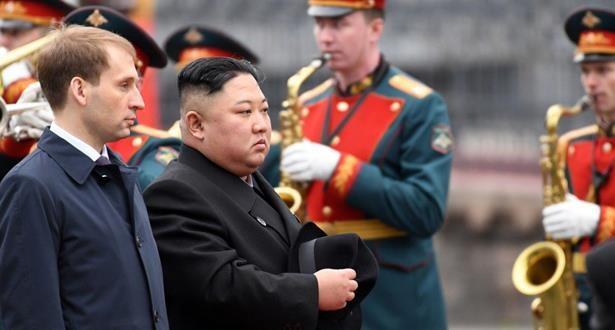 Chủ tịch Kim Jong-un tới Vladivostok, chuẩn bị cuộc gặp thượng đỉnh với tổng thống Putin. Ảnh: RT.