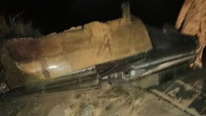 Máy bay tiêm kích Mirage F.1 do Pháp sản xuất bị bắn hạ ở Tripoli. Ảnh: Russian Gazeta.