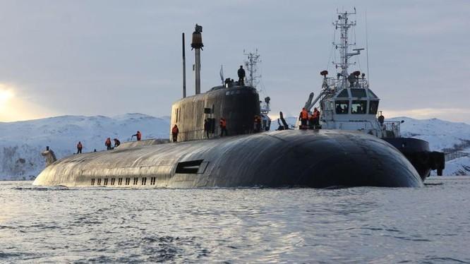 Tàu ngầm hạt nhân Belgorod, phương tiện mang ngư lôi hạt nhân USV Poseidon.