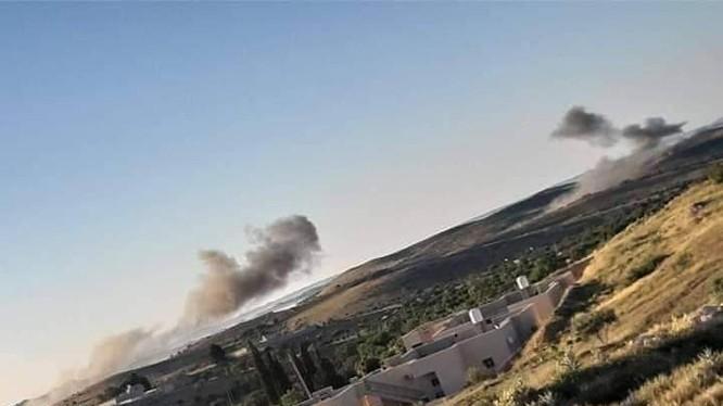 Không quân lực lượng GNA không kích LNA trên chiến trường Tripoli. Ảnh minh họa South Front