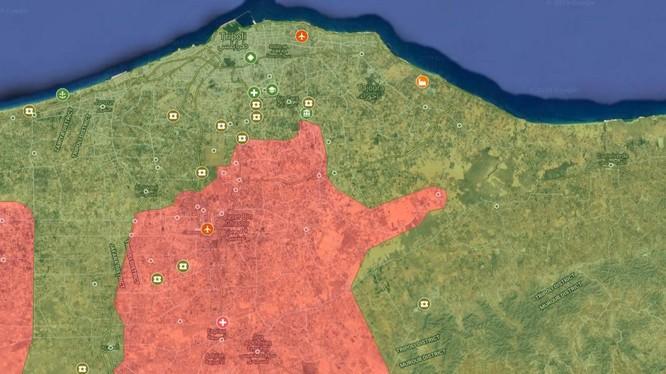 Tổng quan tình hình chiến sự Libya tính đến ngày 30.04.2019.