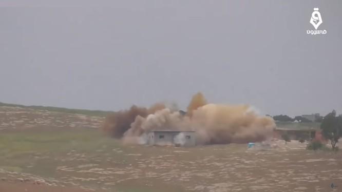 Không quân Nga không kích lực lượng Hồi giáo cực đoan ở Idlib, Hama, Lattakia, Aleppo. Ảnh video STEP NEWS