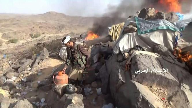 Lực lượng Houthi tấn công trên lãnh thổ Ả rập Xê-út.