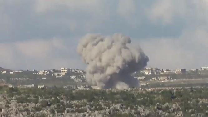 Không quân Syria không kích khủng bố ở tỉnh Idlib.