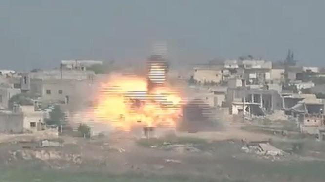 Không quân Nga không kích dữ dội Aleppo, Hama, Idlib sau cuộc tập kích hỏa lực của quân thánh chiến.