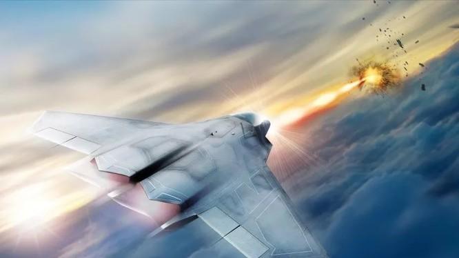 Không quân Mỹ phát triển vũ khí laser lắp đặt trên máy bay.