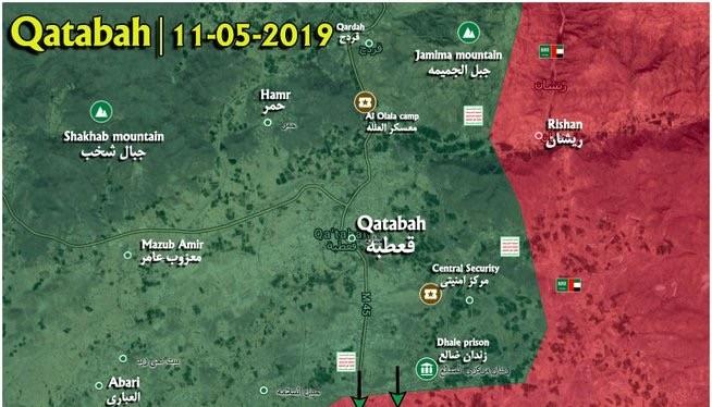 Lực lượng Houthi đánh chiếm thị trấn Qatbah, thủ phủ tỉnh Dhale. Ảnh minh họa Masdar News