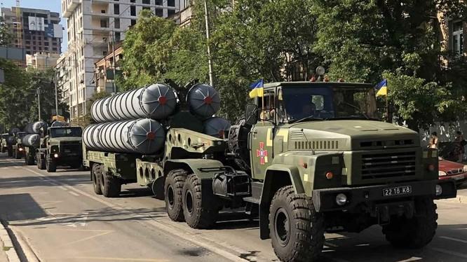Tổ hợp tên lửa S-300PT của Ukraina. Ảnh minh họa Defense - Blog.