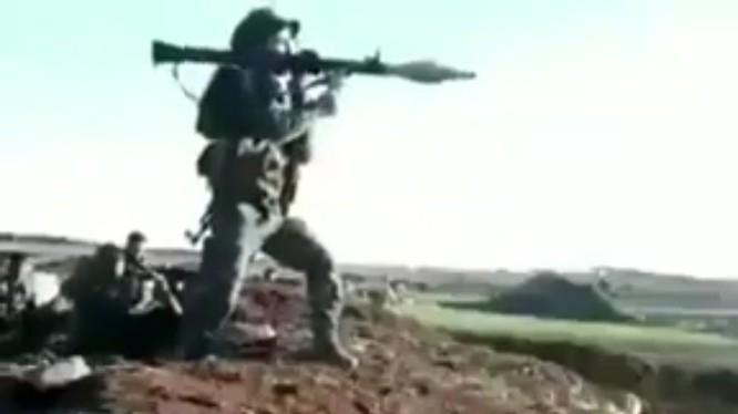 Lực lượng Tiger tiến công trên chiến trường Hama. Ảnh minh họa Masdar News