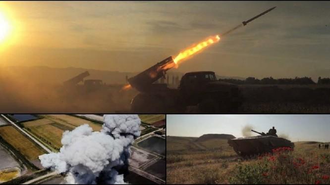 Lực lượng Tiger tiến công trên vùng nông thôn miền bắc Hama. Ảnh minh họa Masdar News