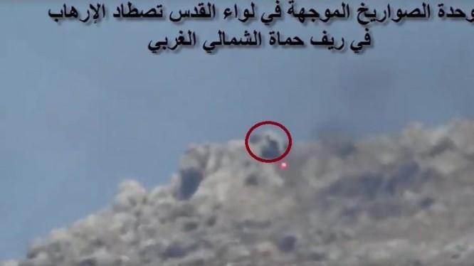 Lực lượng Palestine sử dụng tên lửa chống tăng ATGM tấn công thánh chiến. Ảnh minh họa video