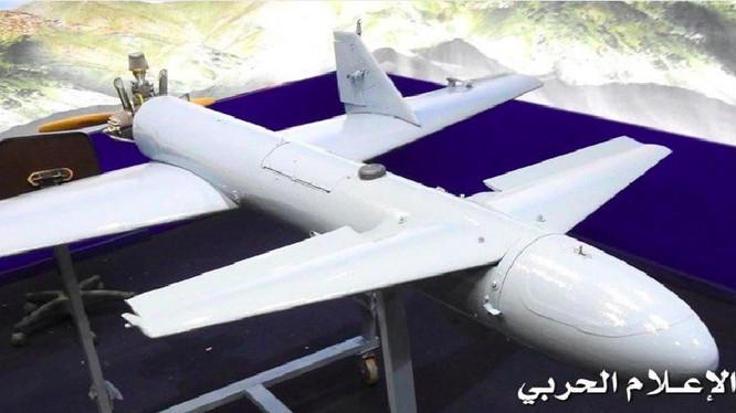 UAV Houthis, vũ khí làm thay đổi cán cân lực lượng với Liên minh quân sự Ả rập Xê út. Ảnh South Front